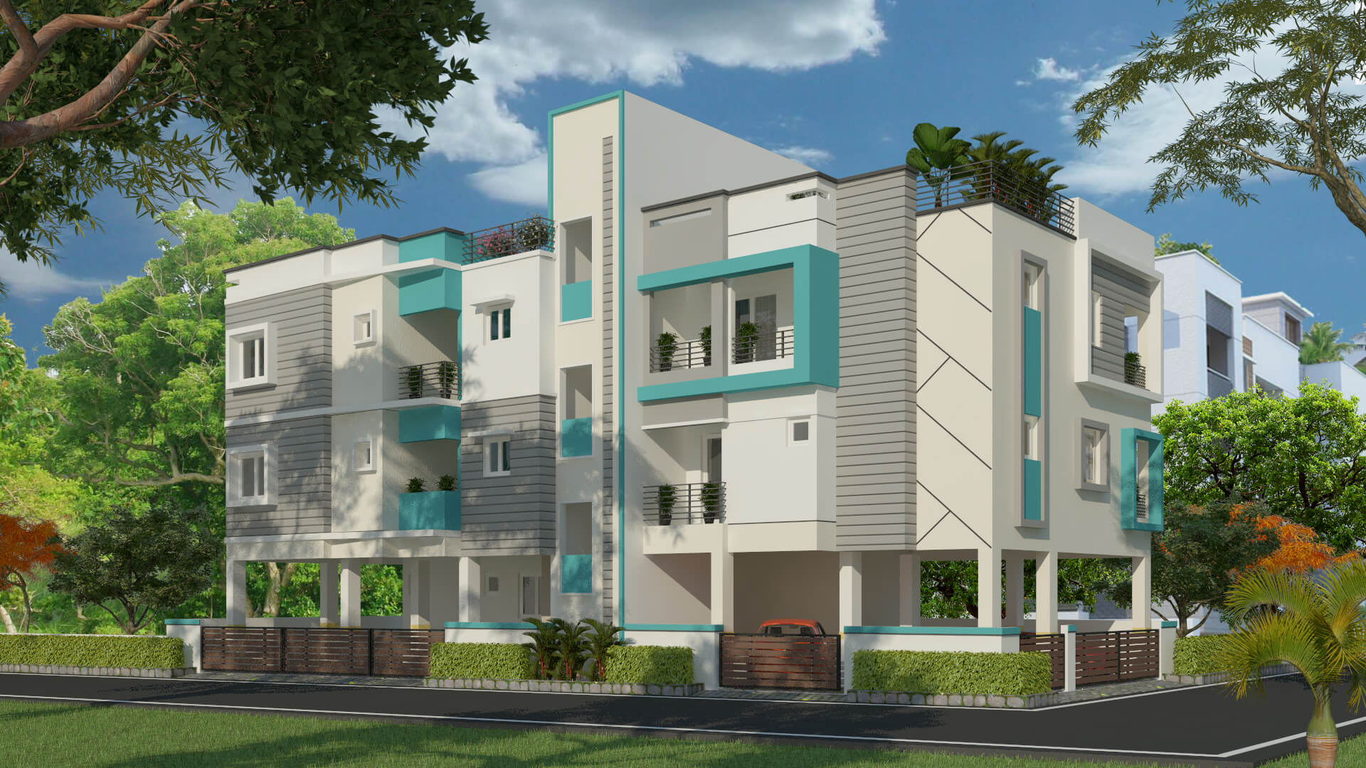 Budget Flats in OMR