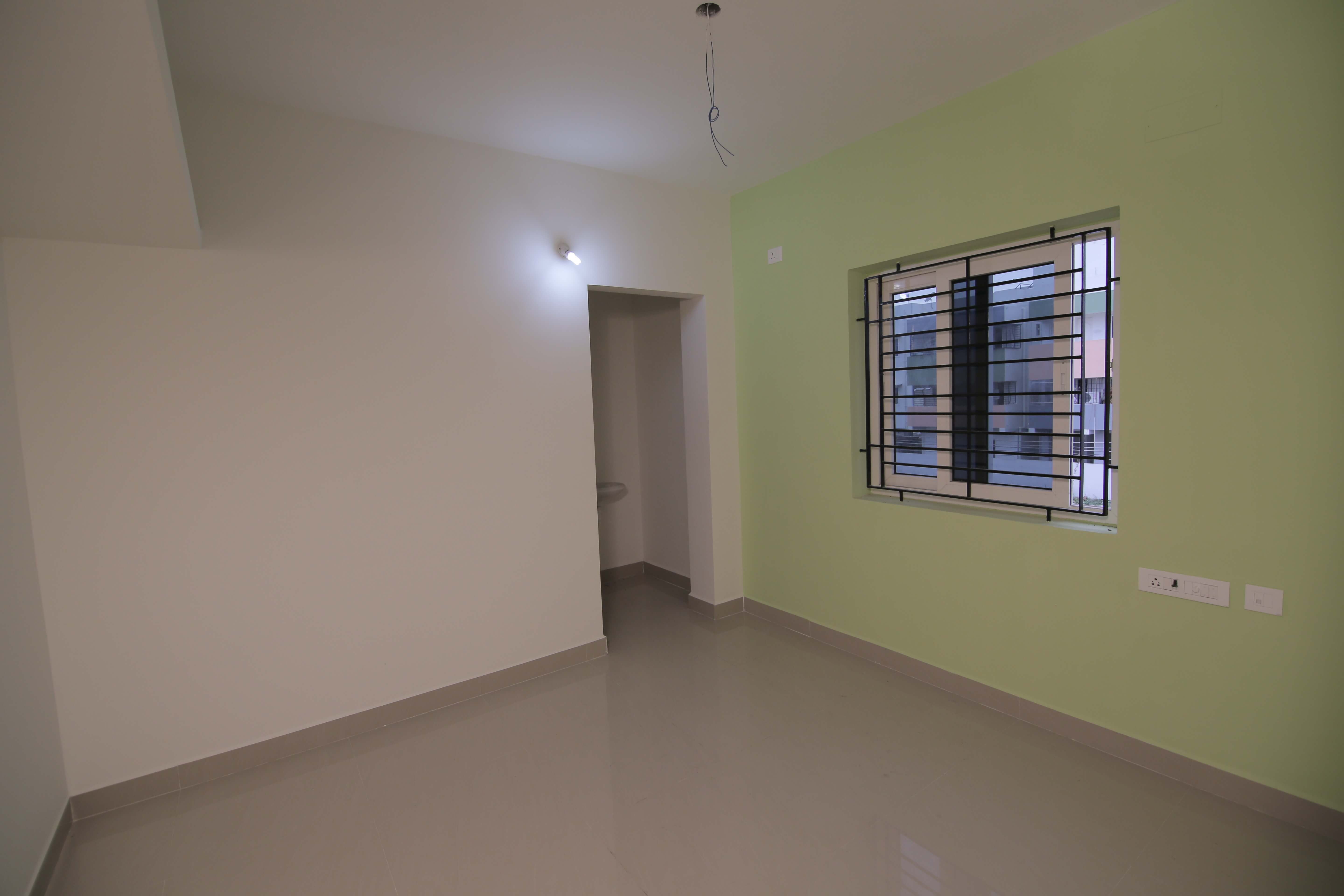 Living Hall at OMR Flats